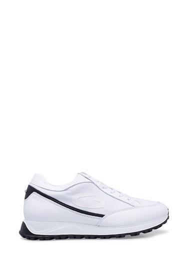 Alberto Guardiani  Ayakkabı Erkek Ayakkabı Agu101040 Beyaz